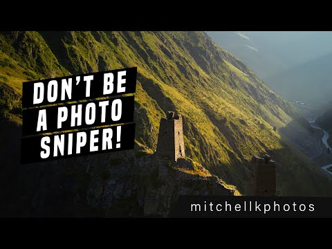 Travel photography tips - Don't be a photo sniper
