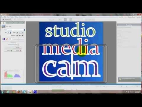 Create Logo - Add to Custom Header - Use Free Picasa - Tutorial