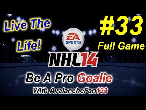 NHL 14 - Be A Pro - Goalie - Episode 33: Game 39 of My 4th Season *Full Game*