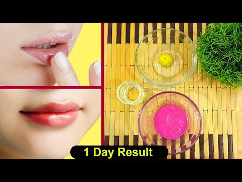 Get Soft Pink Baby Lips 100% Naturally - Lighten Dark Lips Instantly Urdu Hindi