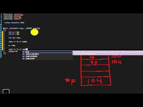 Beginner C++ tutorial 25 (pointers part 2)