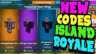 island royale codes 2019 may 24