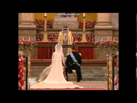 The Royal Wedding of Prince Frederik and Mary Donaldson 2004