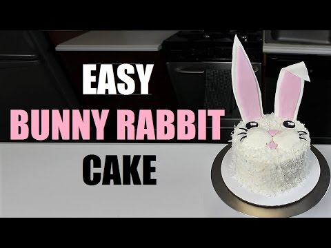 Easy Easter Bunny  Cake | CHELSWEETS