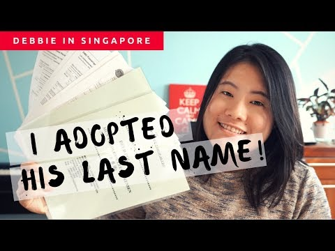 Changing your name in Singapore