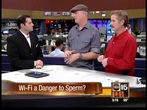 Laptops & phones lowering sperm count?