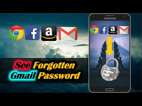 How to See Forgotten Password in Android