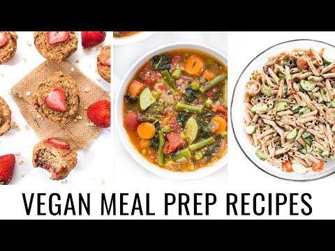 5. VEGAN MEAL PREP | quick & healthy recipes