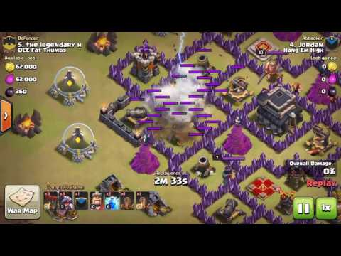 2 Lightning 2 Earthquake 2 AD's Lvl 6 Multiple Air Defenses COC