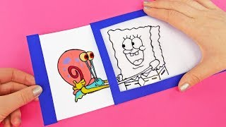 Spongebob 6 Funny Crafts You Should Try To Do At Home