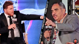 """CANELO VS ABEL SANCHEZ! BOTH HAVE HEATED BACK & FORTH! """"DONT RUN! STAND LIKE A MAN IN THERE!"""""""