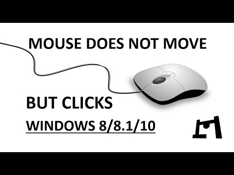 [FIXED] Mouse Clicks But Does Not Move | Windows 8/8.1/10 | 2017