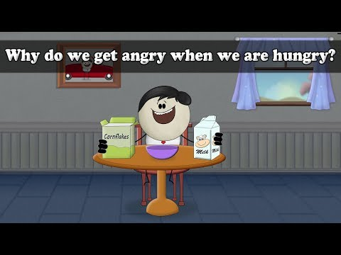 Why do we get angry when we are hungry? | It's AumSum Time