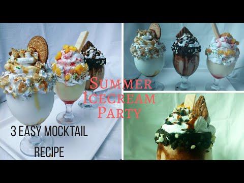 Mocktail | Mocktails For Kids | How to Make Non Alcoholic Cocktails (Mocktails) | Milk Shake Recipe