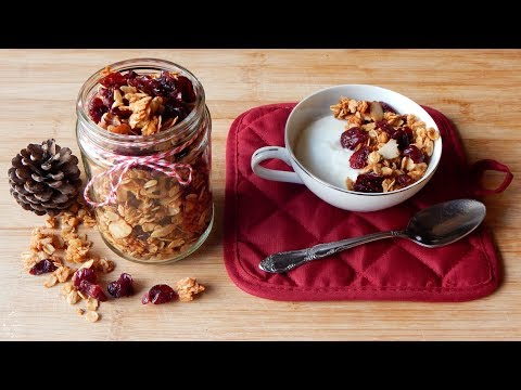 Cinnamon Spice Granola Recipe | The Sweetest Journey