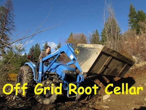 Off Grid Root Cellar