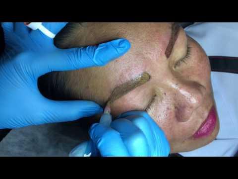 How to Lighten Dark Permanent Eyebrow Shading