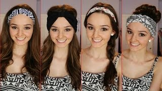 Download Four Ways to Wear a Headband /Headwrap ♡   thekelliworldtv Video