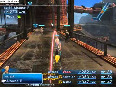 Final Fantasy XII on Pcsx2-r2421
