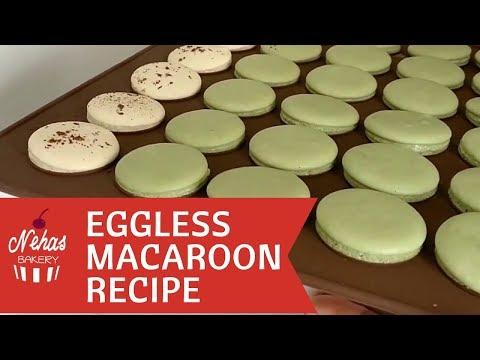 Eggless Macarons  Recipe | By Nehasbakery