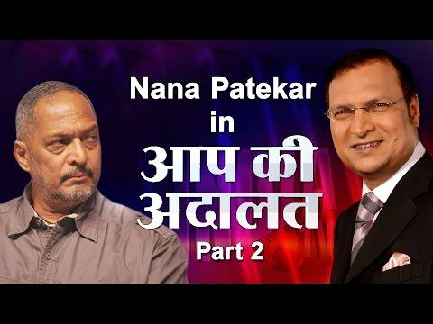 Xxx Mp4 Nana Patekar In Aap Ki Adalat Part 2 India TV 3gp Sex