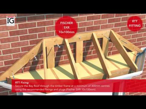 How to Install a GRP Bay Roof - IG Elements