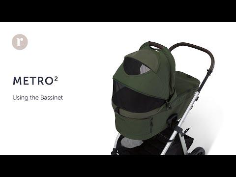 METRO² Pram - using the Bassinet