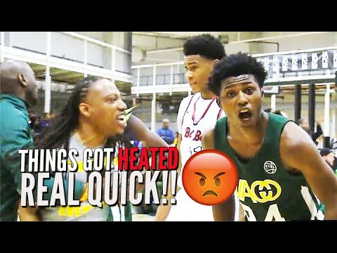 BIGGEST RIVALS FINALLY MEET!! MOST HEATED 16U AAU GAME OF THE YEAR IN OT THRILLER!!