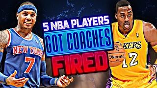 5 NBA Players Who Got Their Head Coach Fired