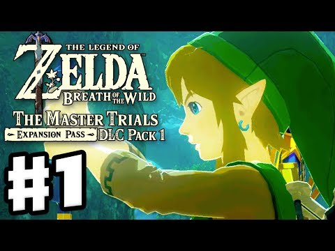 Trial of the Sword Beginning Trials! - The Legend of Zelda: Breath of the Wild DLC Pack 1 Gameplay