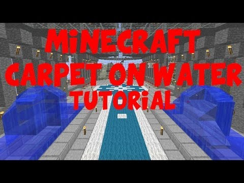 Minecraft Floating carpet Tutorial (PS3 AND XBOX360)