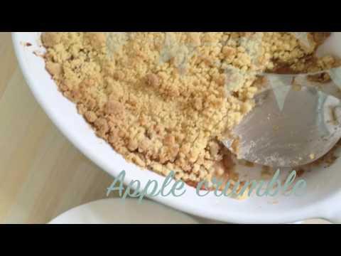 Apple Crumble - Easy recipe