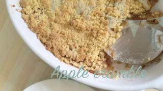 Download Apple Crumble - Easy recipe Video