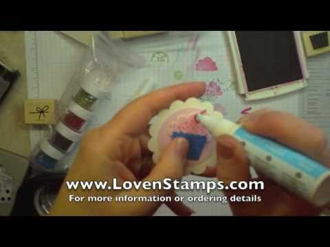 Create A Cupcake Gift Tag: Stamping 101 with Meg