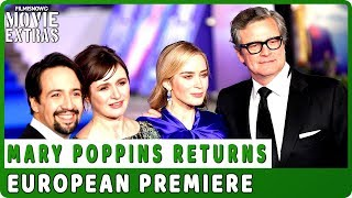 MARY POPPINS RETURNS | European Premiere