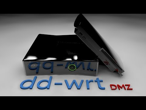 How to open ports using DMZ on DD-WRT Routers for Sony PS3 and PS4, Xbox One and 360 Live