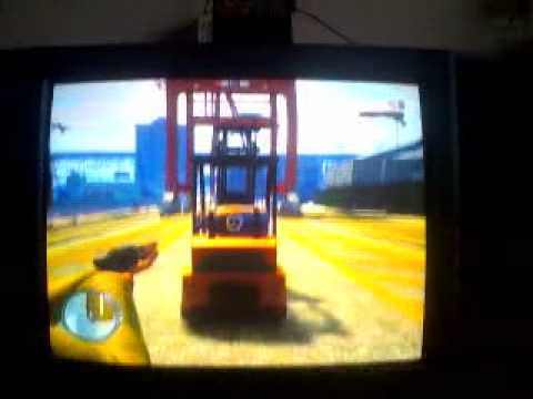GTA 1V NITROS ON FORKLIFT..3gp
