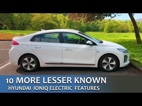 IONIQ Info #7 - 10 More Lesser Known Features | Hyundai IONIQ Electric