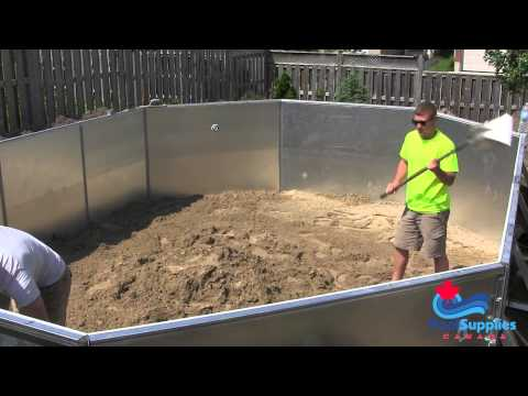 Eternity Semi Inground Pool Kits from Pool Supplies Canada