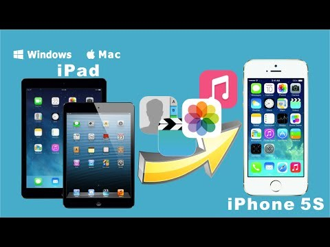 iPad to iPhone 5S Data Transfer for Mac: How to Copy All Data from iPad to iPhone 5S on Mac?