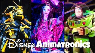 Top 10 Must See Animatronics at Walt Disney World!