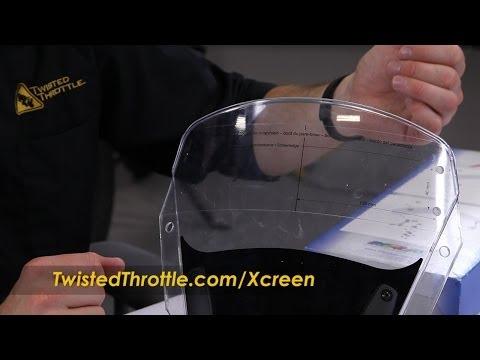 MRA X-Creen Tour Motorcycle Windscreen Extension Bolt-On Installation Walk Through