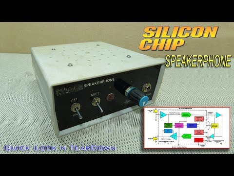 Quick look & teardown of a Silicon Chip Speakerphone