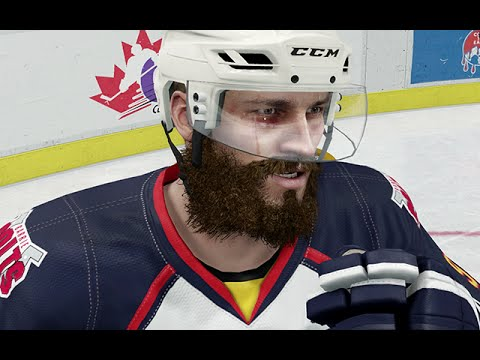 FIGHTING THE ENTIRE TEAM    NHL 16 BE A PRO CAREER MODE   EPISODE 2