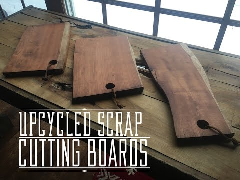 Upcycled Scrap Wood Cutting Boards