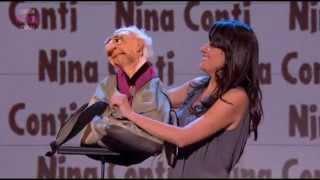 Nina Conti on Russell Howard