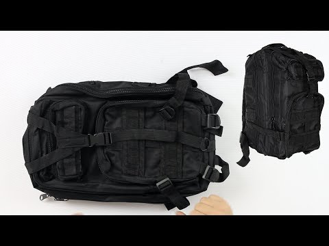 Gen X Global Mini Tactical Backpack - Review