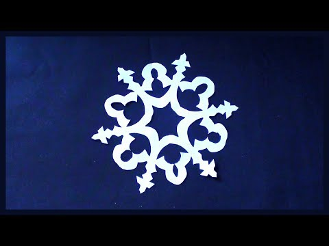 DIY Paper Snowflakes Making Tutorial for Beginners | Easy Simple Paper Crafts for Kids