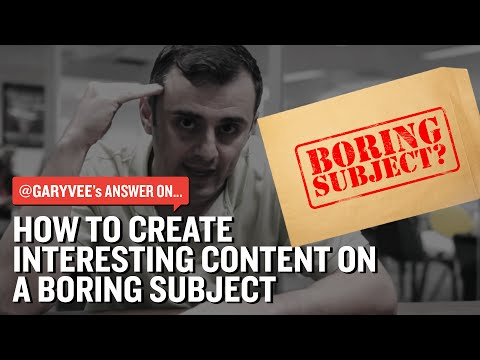 How to Create Interesting Content on a