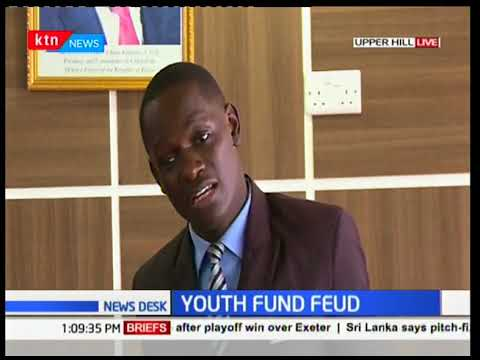 Drama at Youth Fund office as youth leaders demand that Ronnie Osumba to step aside | KTN News Desk